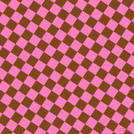 56/146 degree angle diagonal checkered chequered squares checker pattern checkers background, 31 pixel square size, , Persian Pink and Russet checkers chequered checkered squares seamless tileable