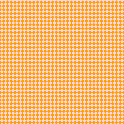 45/135 degree angle diagonal checkered chequered squares checker pattern checkers background, 9 pixel squares size, , Pig Pink and Orange Peel checkers chequered checkered squares seamless tileable
