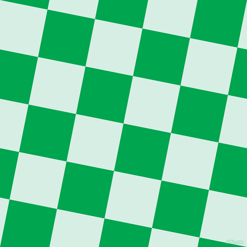 79/169 degree angle diagonal checkered chequered squares checker pattern checkers background, 99 pixel square size, , Pigment Green and White Ice checkers chequered checkered squares seamless tileable