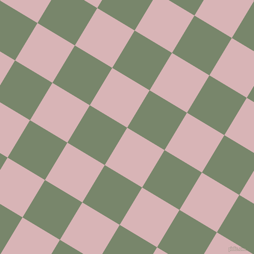 59/149 degree angle diagonal checkered chequered squares checker pattern checkers background, 87 pixel squares size, , Pink Flare and Camouflage Green checkers chequered checkered squares seamless tileable
