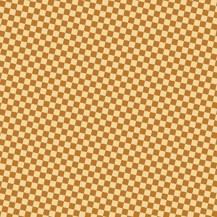 77/167 degree angle diagonal checkered chequered squares checker pattern checkers background, 24 pixel square size, , Pirate Gold and Splash checkers chequered checkered squares seamless tileable