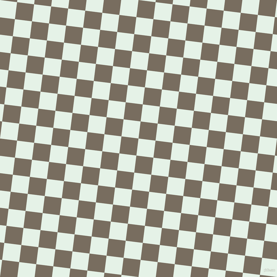 83/173 degree angle diagonal checkered chequered squares checker pattern checkers background, 55 pixel squares size, , Polar and Sandstone checkers chequered checkered squares seamless tileable