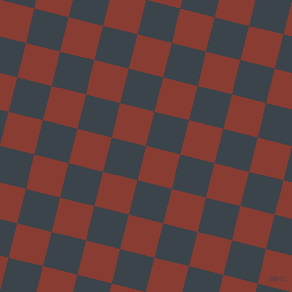 76/166 degree angle diagonal checkered chequered squares checker pattern checkers background, 72 pixel squares size, , Prairie Sand and Arsenic checkers chequered checkered squares seamless tileable