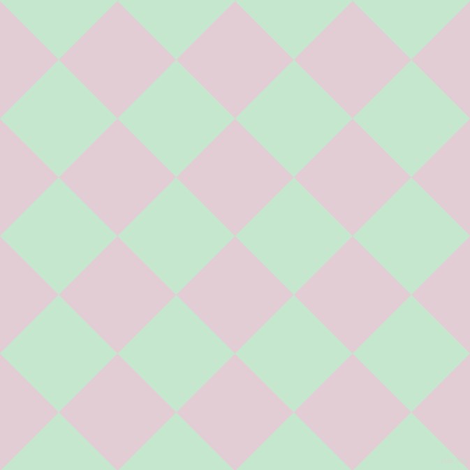 45/135 degree angle diagonal checkered chequered squares checker pattern checkers background, 119 pixel squares size, , Prim and Granny Apple checkers chequered checkered squares seamless tileable