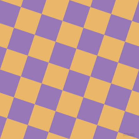 72/162 degree angle diagonal checkered chequered squares checker pattern checkers background, 70 pixel squares size, , Purple Mountain