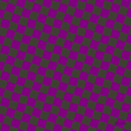 72/162 degree angle diagonal checkered chequered squares checker pattern checkers background, 27 pixel square size, , Purple and Scrub checkers chequered checkered squares seamless tileable