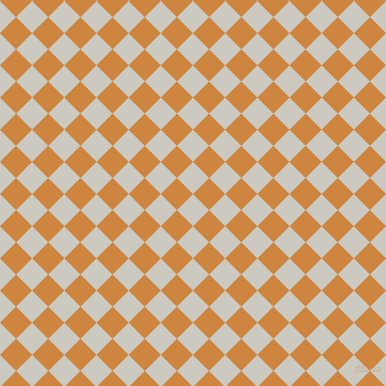 45/135 degree angle diagonal checkered chequered squares checker pattern checkers background, 32 pixel squares size, , Quill Grey and Peru checkers chequered checkered squares seamless tileable