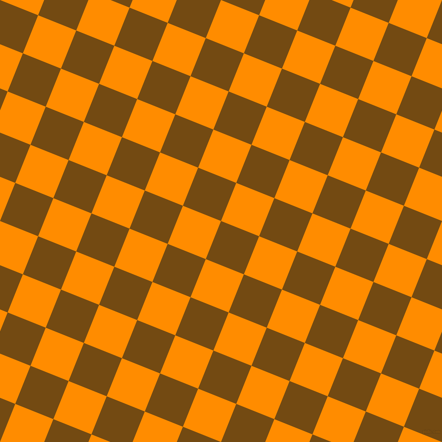 68/158 degree angle diagonal checkered chequered squares checker pattern checkers background, 83 pixel squares size, , Raw Umber and Dark Orange checkers chequered checkered squares seamless tileable