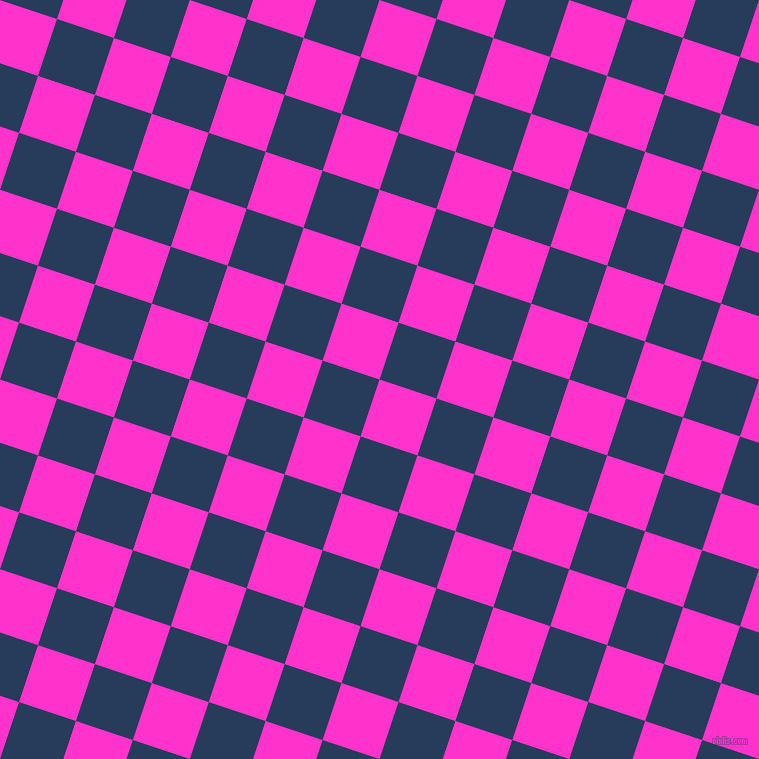 72/162 degree angle diagonal checkered chequered squares checker pattern checkers background, 60 pixel square size, , Razzle Dazzle Rose and Catalina Blue checkers chequered checkered squares seamless tileable