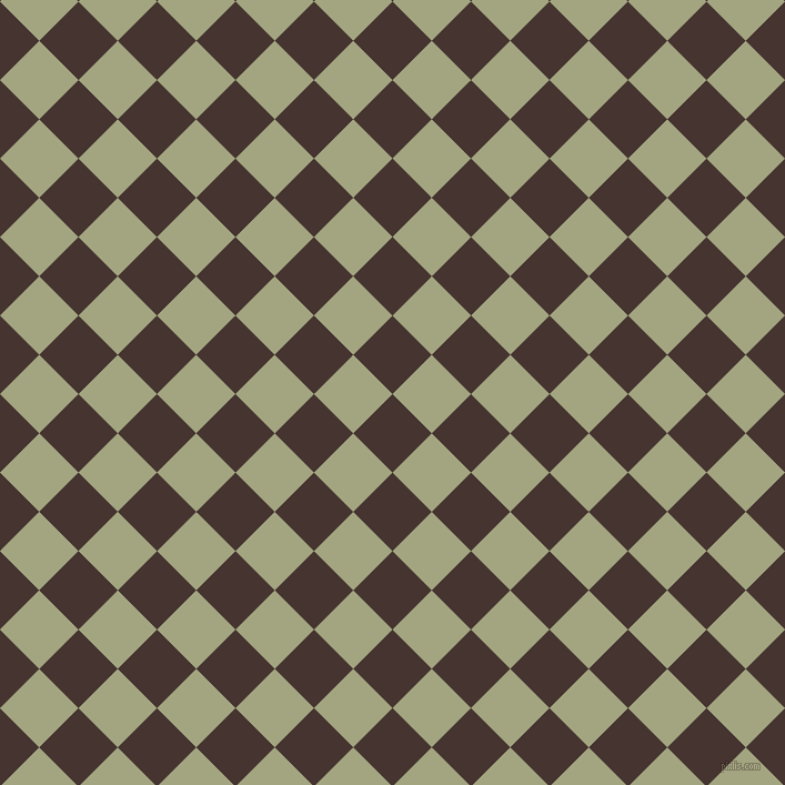 45/135 degree angle diagonal checkered chequered squares checker pattern checkers background, 50 pixel square size, , Rebel and Locust checkers chequered checkered squares seamless tileable