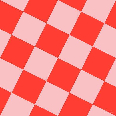 63/153 degree angle diagonal checkered chequered squares checker pattern checkers background, 107 pixel squares size, , Red Orange and Azalea checkers chequered checkered squares seamless tileable