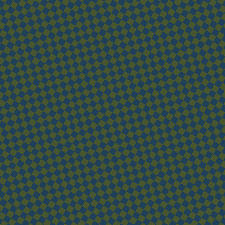 58/148 degree angle diagonal checkered chequered squares checker pattern checkers background, 12 pixel square size, , Regal Blue and Clover checkers chequered checkered squares seamless tileable