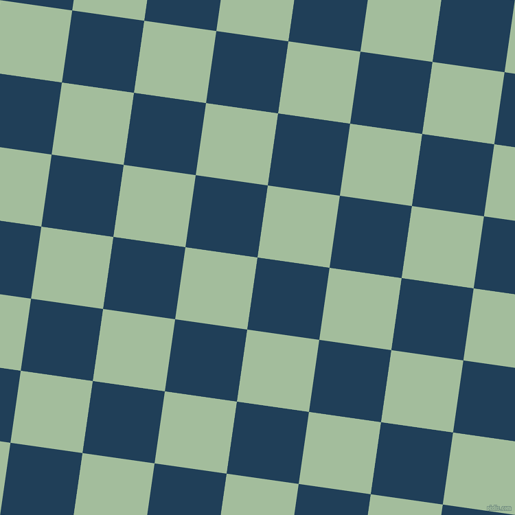 82/172 degree angle diagonal checkered chequered squares checker pattern checkers background, 106 pixel square size, Regal Blue and Spring Rain checkers chequered checkered squares seamless tileable
