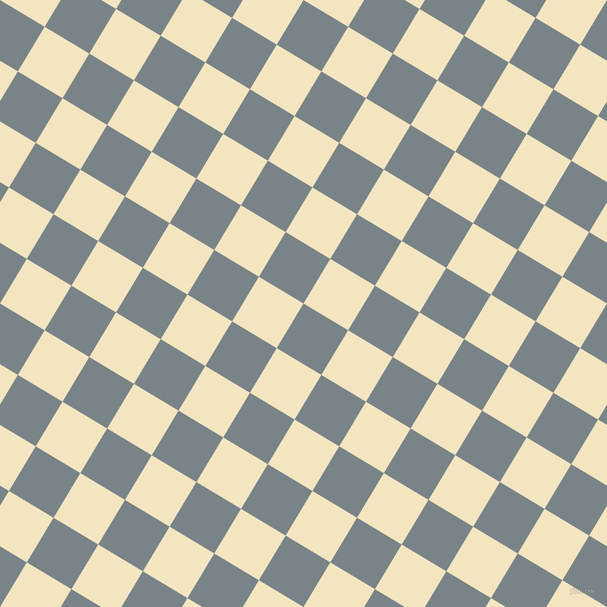 59/149 degree angle diagonal checkered chequered squares checker pattern checkers background, 74 pixel squares size, , Regent Grey and Milk Punch checkers chequered checkered squares seamless tileable