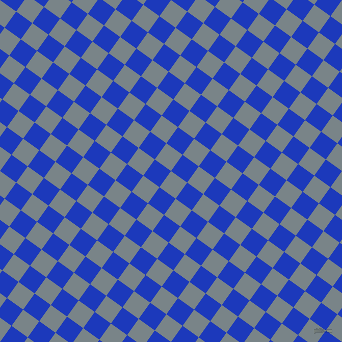 54/144 degree angle diagonal checkered chequered squares checker pattern checkers background, 39 pixel square size, , Regent Grey and Persian Blue checkers chequered checkered squares seamless tileable