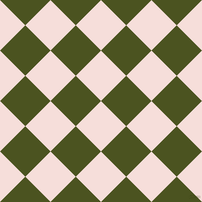 45/135 degree angle diagonal checkered chequered squares checker pattern checkers background, 115 pixel square size, , Remy and Army green checkers chequered checkered squares seamless tileable