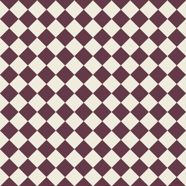 45/135 degree angle diagonal checkered chequered squares checker pattern checkers background, 51 pixel square size, , Rice Cake and Tawny Port checkers chequered checkered squares seamless tileable