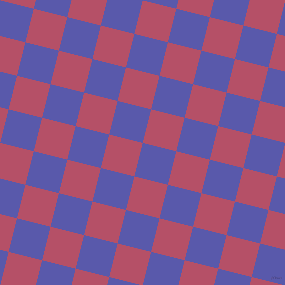 76/166 degree angle diagonal checkered chequered squares checker pattern checkers background, 110 pixel square size, , Rich Blue and Blush checkers chequered checkered squares seamless tileable