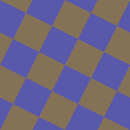 63/153 degree angle diagonal checkered chequered squares checker pattern checkers background, 95 pixel squares size, , Rich Blue and Cement checkers chequered checkered squares seamless tileable