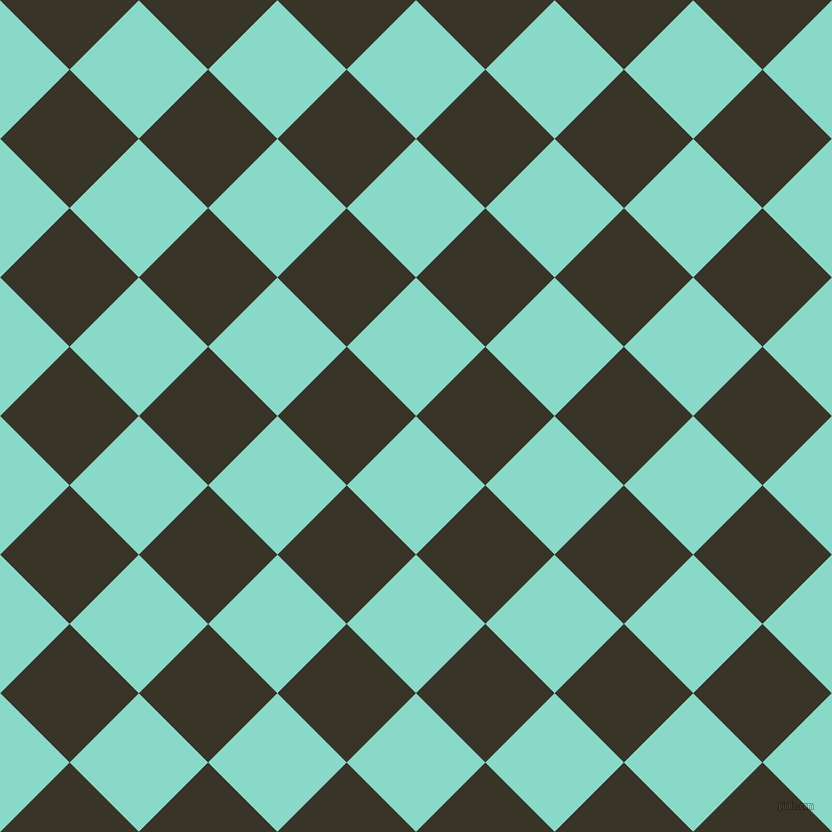 45/135 degree angle diagonal checkered chequered squares checker pattern checkers background, 98 pixel squares size, , Riptide and Graphite checkers chequered checkered squares seamless tileable
