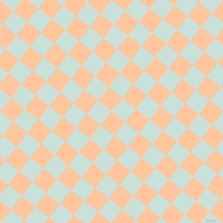 51/141 degree angle diagonal checkered chequered squares checker pattern checkers background, 58 pixel squares size, , Romantic and Iceberg checkers chequered checkered squares seamless tileable