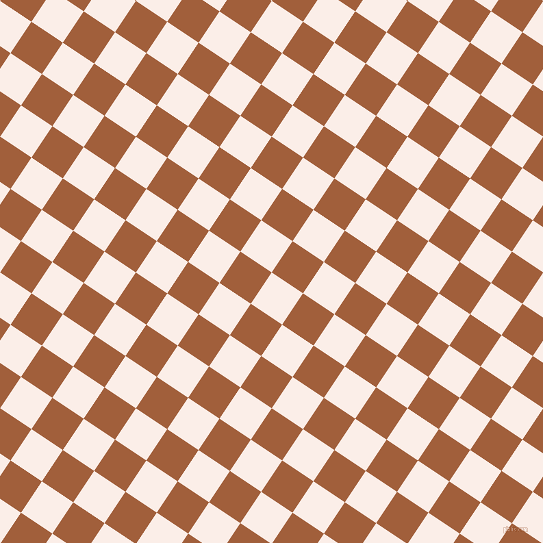 56/146 degree angle diagonal checkered chequered squares checker pattern checkers background, 55 pixel squares size, , Rose White and Desert checkers chequered checkered squares seamless tileable