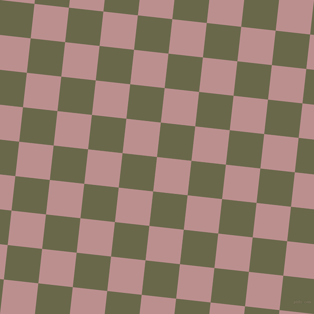 84/174 degree angle diagonal checkered chequered squares checker pattern checkers background, 69 pixel squares size, , Rosy Brown and Hemlock checkers chequered checkered squares seamless tileable