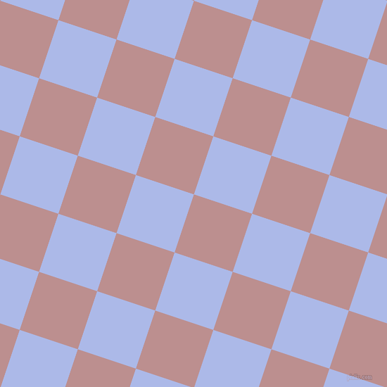 72/162 degree angle diagonal checkered chequered squares checker pattern checkers background, 87 pixel squares size, , Rosy Brown and Perano checkers chequered checkered squares seamless tileable