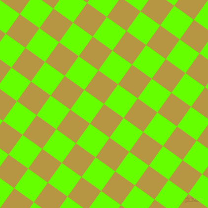 54/144 degree angle diagonal checkered chequered squares checker pattern checkers background, 49 pixel square size, , Roti and Bright Green checkers chequered checkered squares seamless tileable