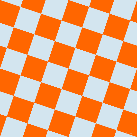 72/162 degree angle diagonal checkered chequered squares checker pattern checkers background, 89 pixel square size, , Safety Orange and Pattens Blue checkers chequered checkered squares seamless tileable