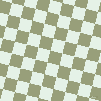 76/166 degree angle diagonal checkered chequered squares checker pattern checkers background, 52 pixel squares size, , Sage and Polar checkers chequered checkered squares seamless tileable