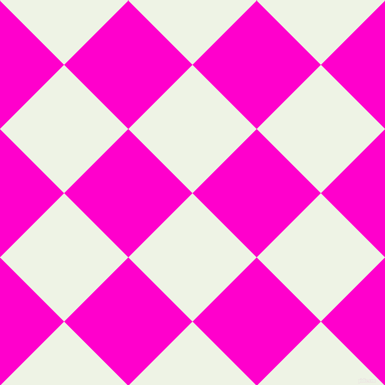 45/135 degree angle diagonal checkered chequered squares checker pattern checkers background, 187 pixel squares size, , Saltpan and Hot Magenta checkers chequered checkered squares seamless tileable