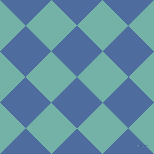 45/135 degree angle diagonal checkered chequered squares checker pattern checkers background, 123 pixel squares size, , San Marino and Gulf Stream checkers chequered checkered squares seamless tileable