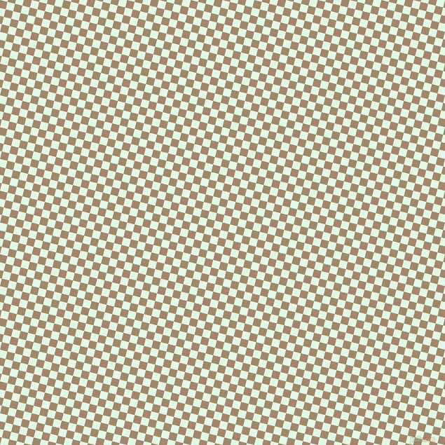 76/166 degree angle diagonal checkered chequered squares checker pattern checkers background, 11 pixel square size, , Sandal and Cosmic Latte checkers chequered checkered squares seamless tileable
