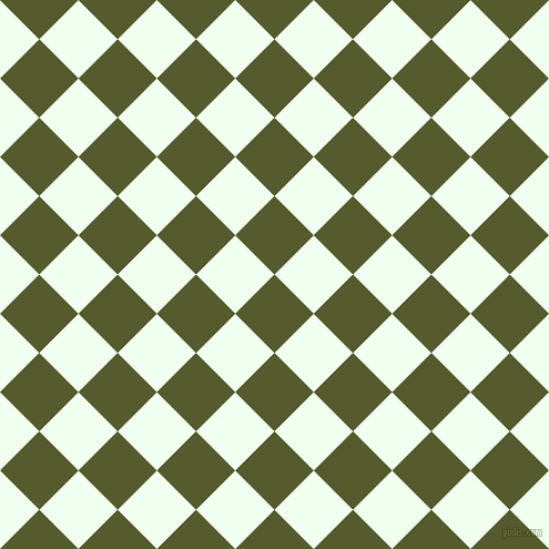 45/135 degree angle diagonal checkered chequered squares checker pattern checkers background, 50 pixel squares size, , Saratoga and Honeydew checkers chequered checkered squares seamless tileable