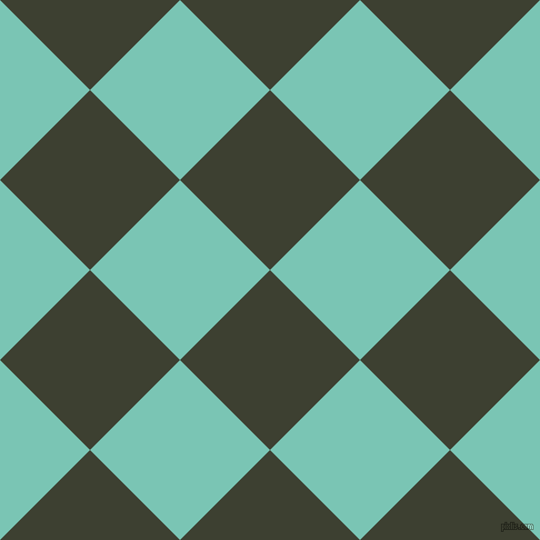 45/135 degree angle diagonal checkered chequered squares checker pattern checkers background, 140 pixel squares size, , Scrub and Monte Carlo checkers chequered checkered squares seamless tileable