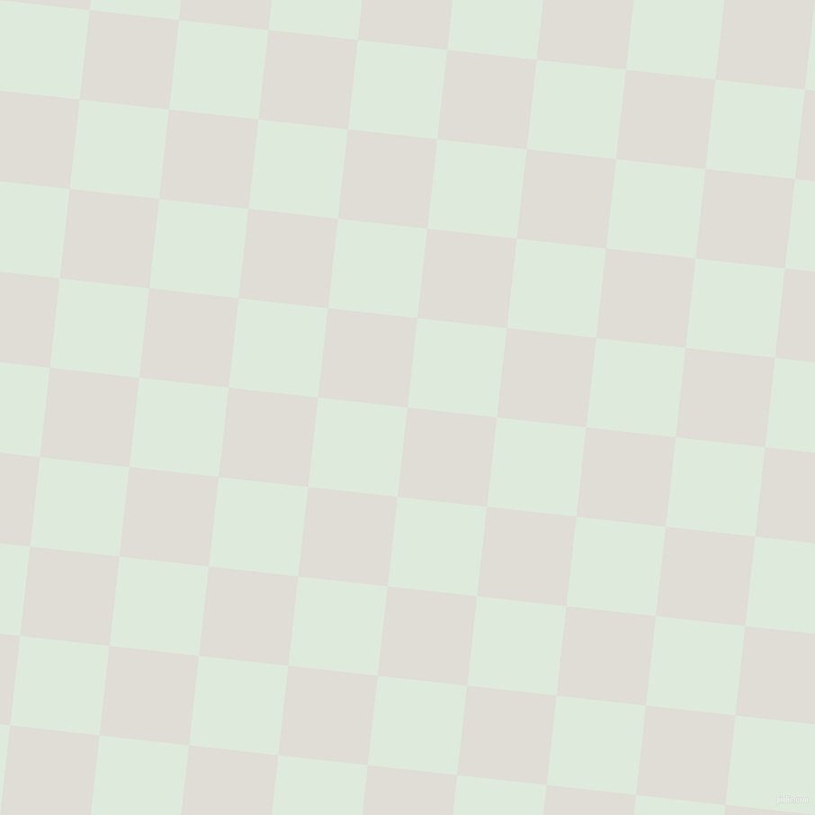 84/174 degree angle diagonal checkered chequered squares checker pattern checkers background, 100 pixel squares size, Sea Fog and Apple Green checkers chequered checkered squares seamless tileable