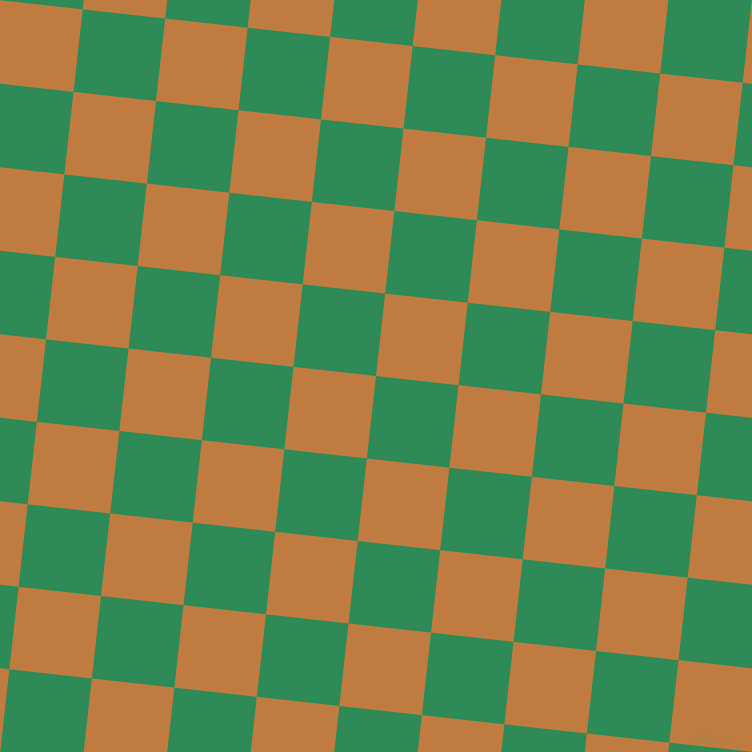 84/174 degree angle diagonal checkered chequered squares checker pattern checkers background, 83 pixel squares size, , Sea Green and Brandy Punch checkers chequered checkered squares seamless tileable