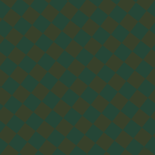 52/142 degree angle diagonal checkered chequered squares checker pattern checkers background, 47 pixel squares size, , Seaweed and Bottle Green checkers chequered checkered squares seamless tileable
