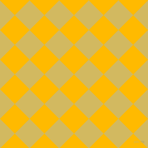 45/135 degree angle diagonal checkered chequered squares checker pattern checkers background, 72 pixel squares size, Selective Yellow and Tacha checkers chequered checkered squares seamless tileable