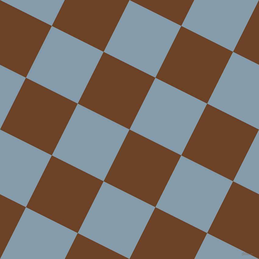 63/153 degree angle diagonal checkered chequered squares checker pattern checkers background, 190 pixel squares size, , Semi-Sweet Chocolate and Bali Hai checkers chequered checkered squares seamless tileable