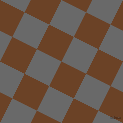 63/153 degree angle diagonal checkered chequered squares checker pattern checkers background, 95 pixel squares size, , Semi-Sweet Chocolate and Dim Gray checkers chequered checkered squares seamless tileable