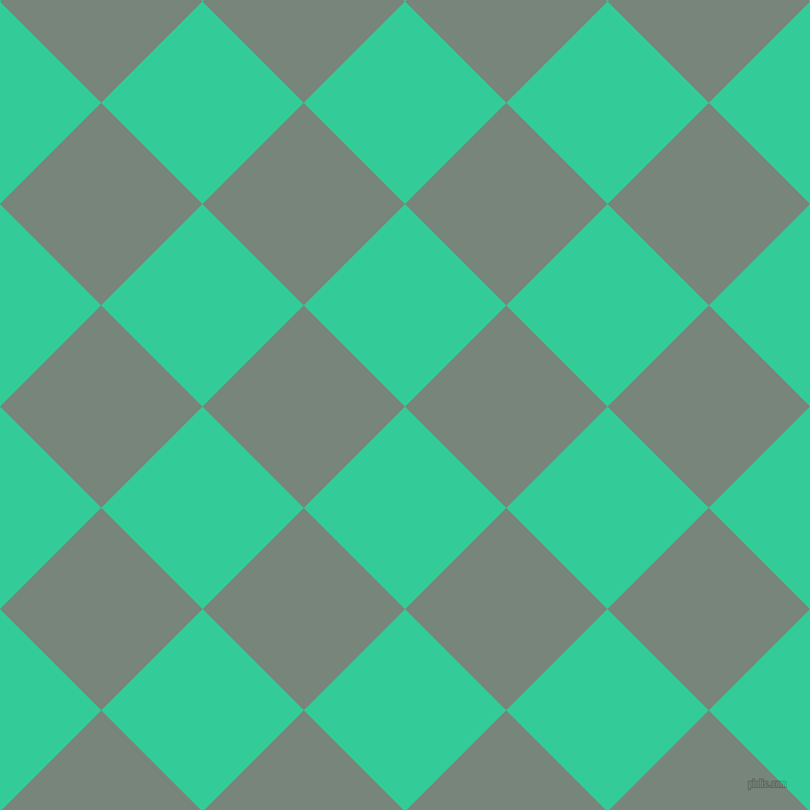 45/135 degree angle diagonal checkered chequered squares checker pattern checkers background, 131 pixel squares size, , Shamrock and Blue Smoke checkers chequered checkered squares seamless tileable