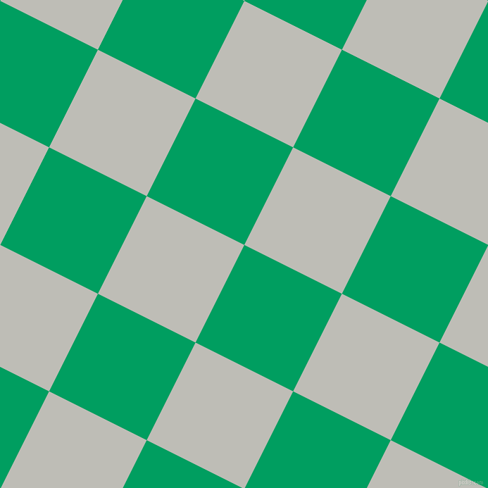 63/153 degree angle diagonal checkered chequered squares checker pattern checkers background, 155 pixel square size, , Shamrock Green and Silver Sand checkers chequered checkered squares seamless tileable