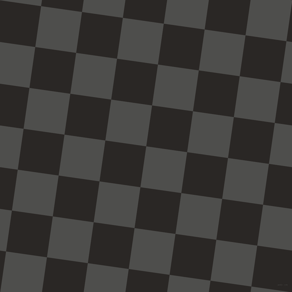 82/172 degree angle diagonal checkered chequered squares checker pattern checkers background, 143 pixel squares size, , Ship Grey and Bokara Grey checkers chequered checkered squares seamless tileable