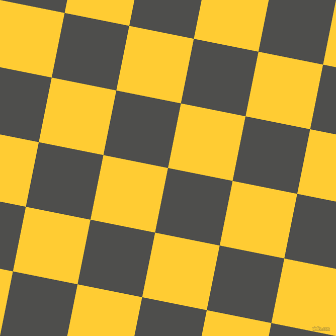 79/169 degree angle diagonal checkered chequered squares checker pattern checkers background, 131 pixel squares size, Ship Grey and Sunglow checkers chequered checkered squares seamless tileable