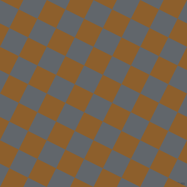 63/153 degree angle diagonal checkered chequered squares checker pattern checkers background, 73 pixel square size, , Shuttle Grey and Rusty Nail checkers chequered checkered squares seamless tileable