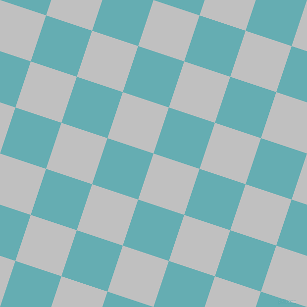 72/162 degree angle diagonal checkered chequered squares checker pattern checkers background, 98 pixel square size, , Silver and Fountain Blue checkers chequered checkered squares seamless tileable