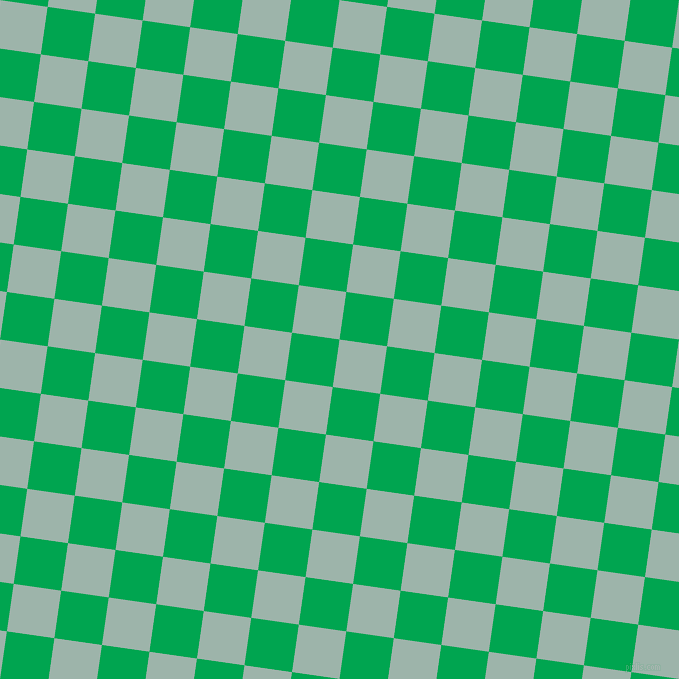 82/172 degree angle diagonal checkered chequered squares checker pattern checkers background, 48 pixel square size, , Skeptic and Pigment Green checkers chequered checkered squares seamless tileable