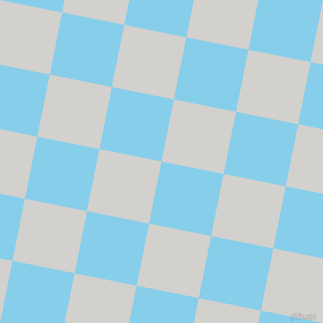 79/169 degree angle diagonal checkered chequered squares checker pattern checkers background, 90 pixel square size, , Sky Blue and Concrete checkers chequered checkered squares seamless tileable